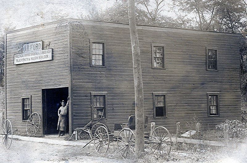 Ford Blacksmith Shop Exterior