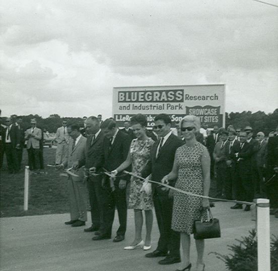 Bluegrass Reseaerch and Indusrial Park Ribbon Cutting