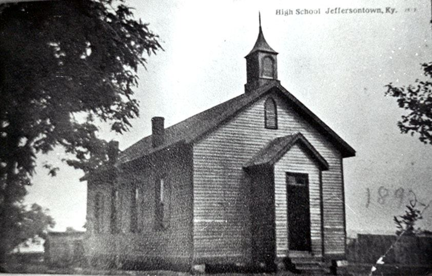 Jeffersontown School c1892