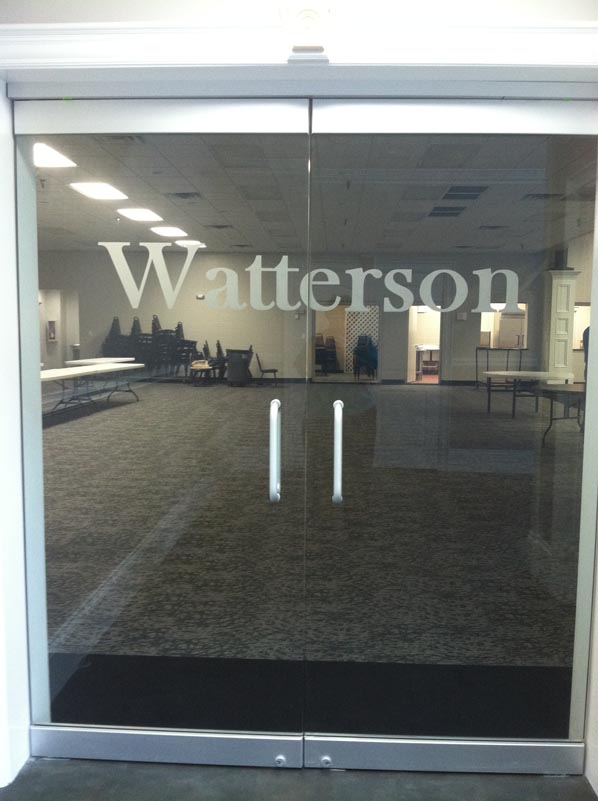 Watterson Room Entrance