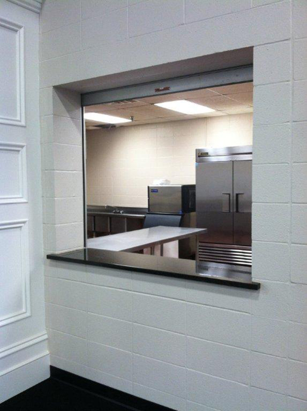 Kitchen Serving Window - Jefferson Room