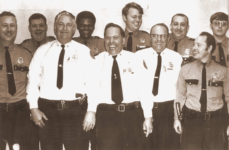 1970s Jeffersontown Police Department staff
