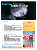 Smoke Alarm - Safety at Home