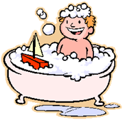 Child in Bathtub